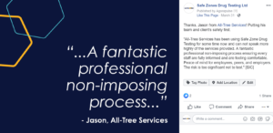Using Testimonial on Facebook