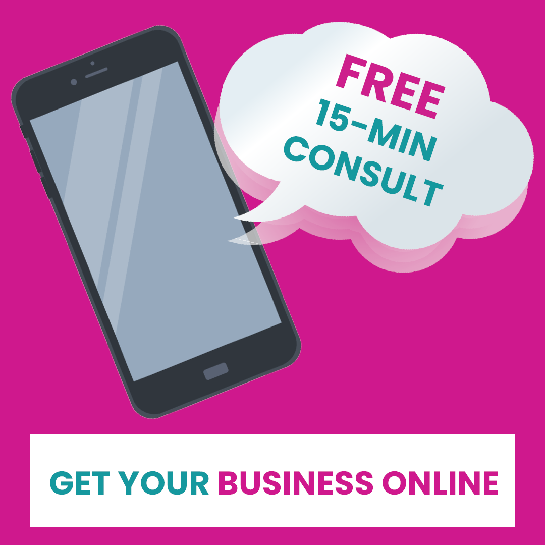Get your business online with a free 15-min consult